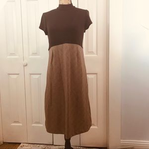 Motherhood Maternity Brown Sweater Dress